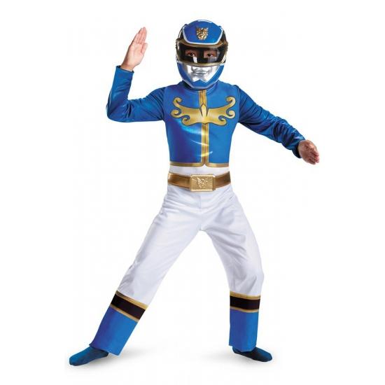 Image of Carnaval kostuum Blue Ranger voor jongens