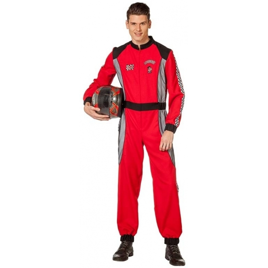 Image of Carnaval kostuum racer rood voor heren