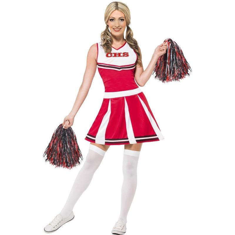Image of Carnavalkostuum cheerleading dames