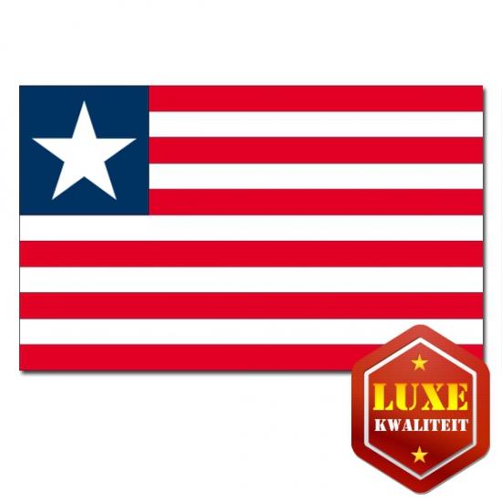 Carnavalsartikel vlag Liberia