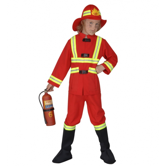 Image of Carnavalskostuum brandweer kinderen