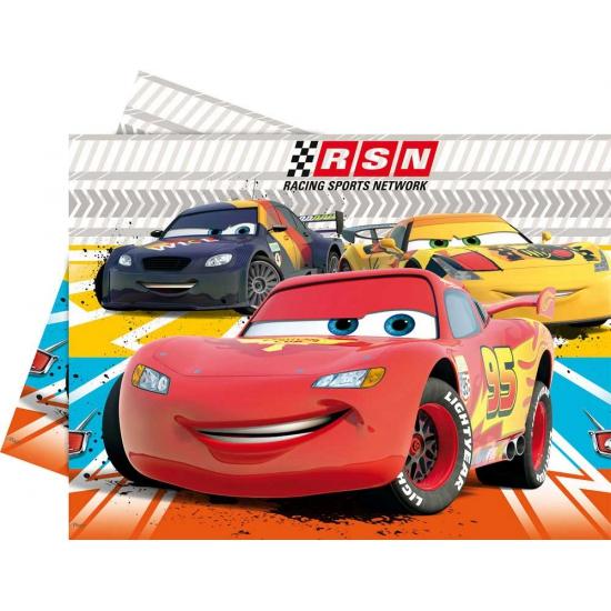 Image of Cars tafelkleed van plastic 120 x 180 cm