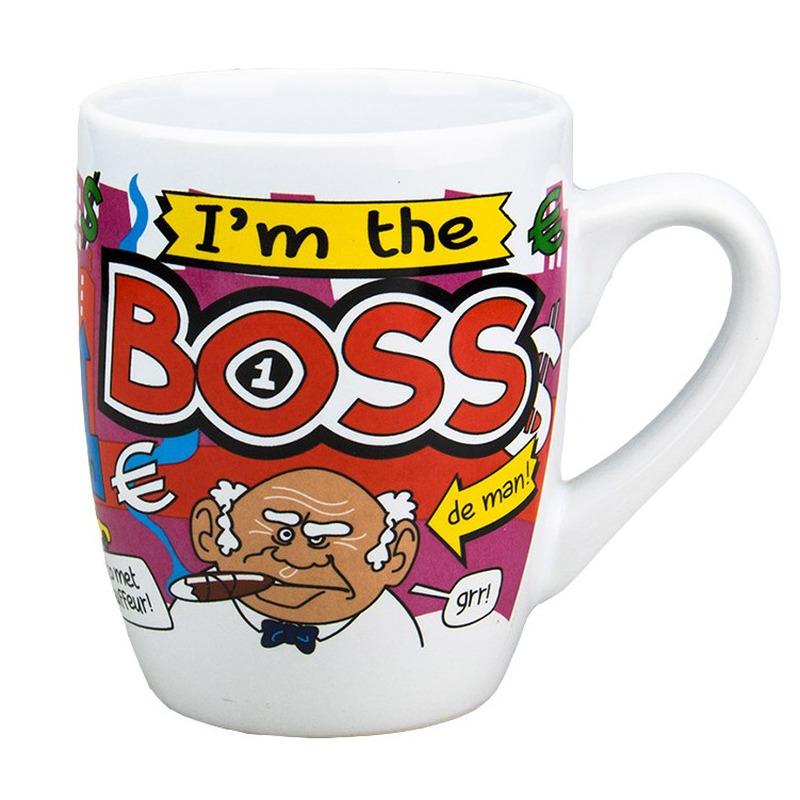 Image of Cartoon mok I'm the boss