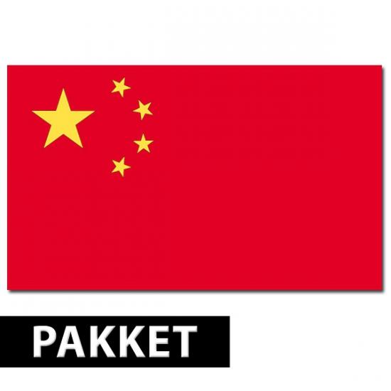 Image of Chinese feestartikelen pakket