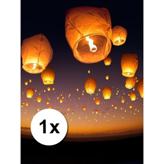 Image of Chinese wensballon wit 50 x 100 cm
