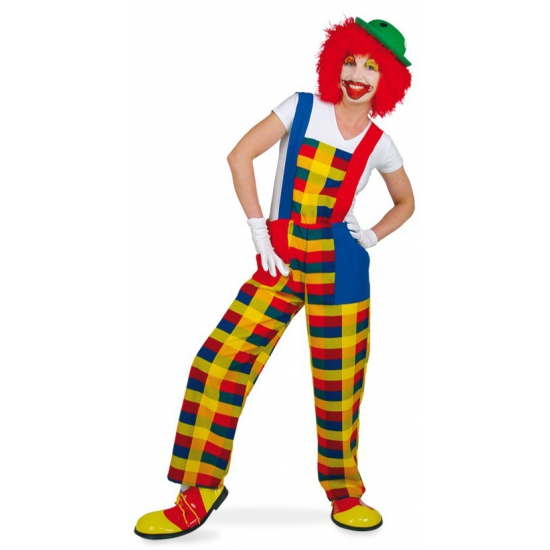Image of Clown verkleed overall voor volwassenen