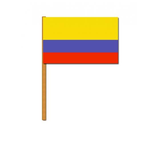 Image of Colombia decoratie zwaaivlag