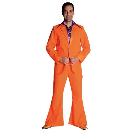 Compleet heren pak oranje