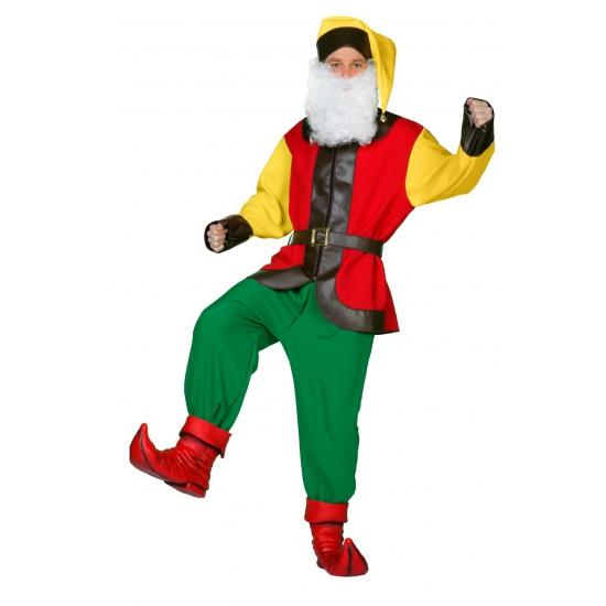 Kabouter kostuum voor volwassenen. compleet kabouter kostuum voor volwassenen bestaande uit een broek, shirt ...