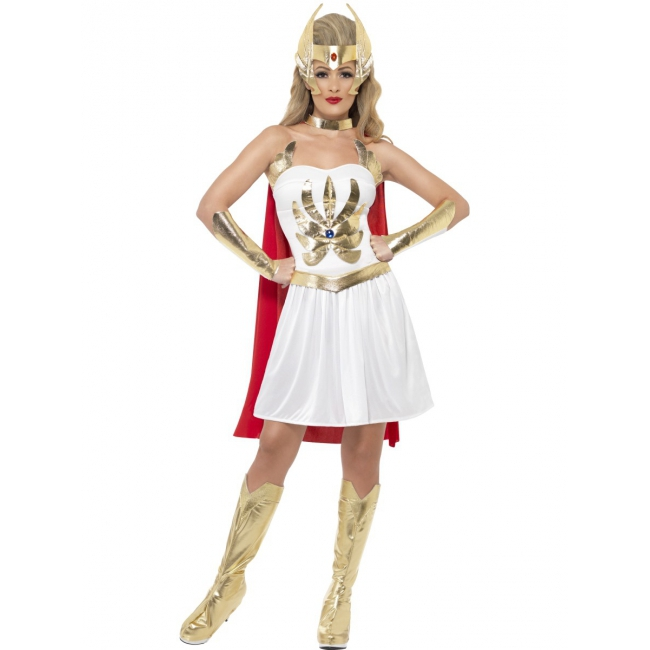 Image of Compleet She Ra cartoon kostuum