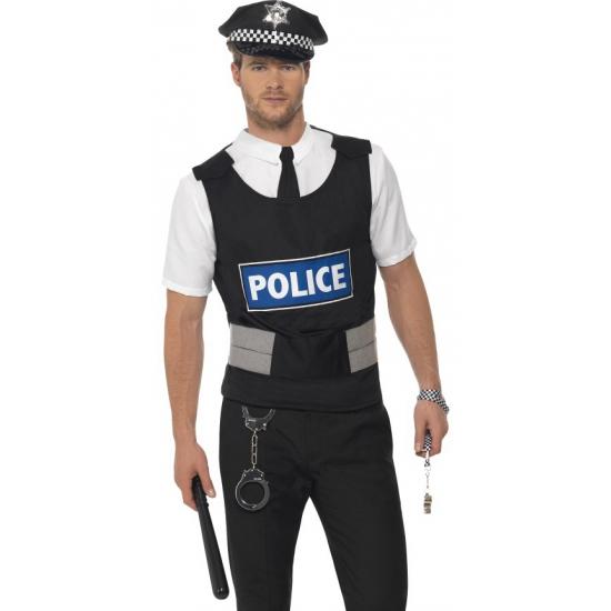 Compleet verkleed setje politieman