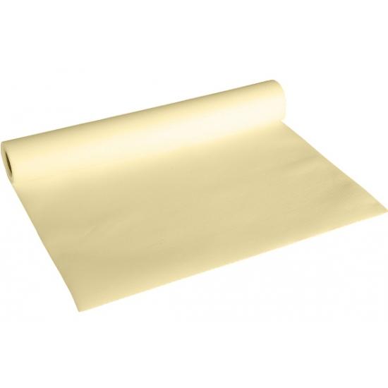Image of Creme kleur tafelloper van papier