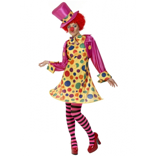 Image of Dames clowns verkleedkleren
