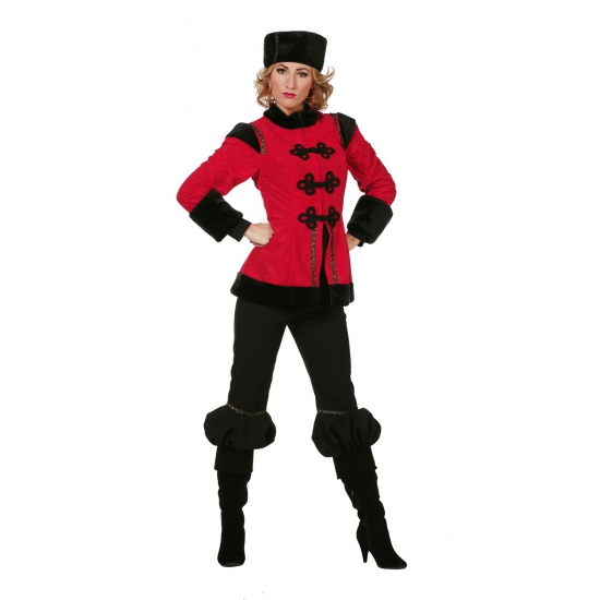 Image of Dames erkleed kleding luxe Kozak