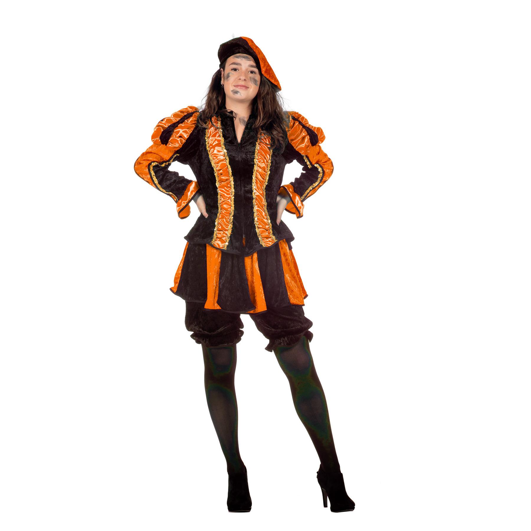 Image of Dames pieten pak oranje