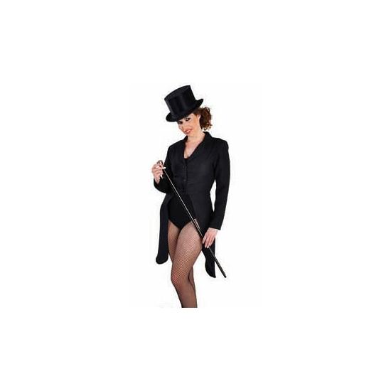 Image of Dames slipjassen zwart