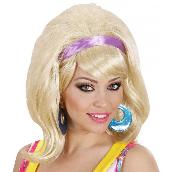 Damespruik met haarband