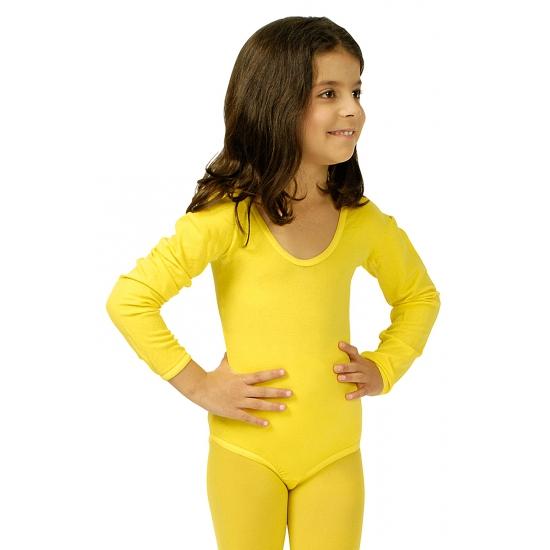Image of Danspak meisjes geel
