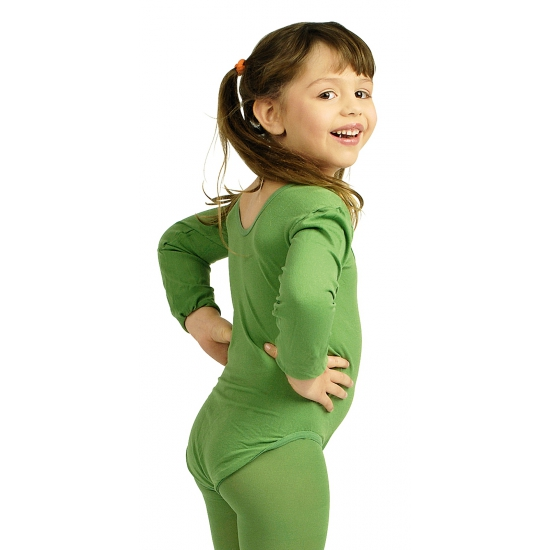Image of Danspak meisjes groen