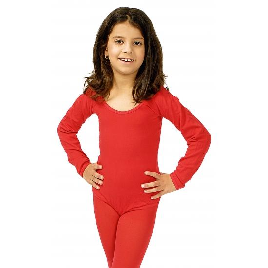 Image of Danspak meisjes rood
