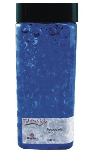 Image of Decoratie aqua parels blauw 1 cm