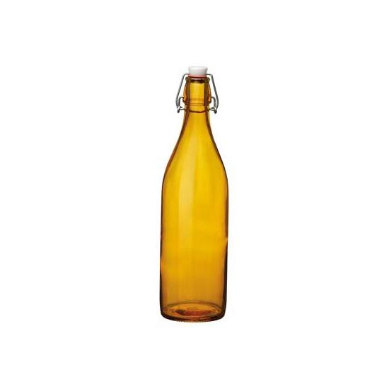 Image of Decoratie fles oranje 1 liter