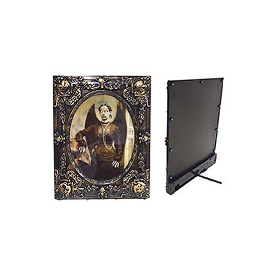 Image of Decoratie lijst met enge vrouw met vleugels