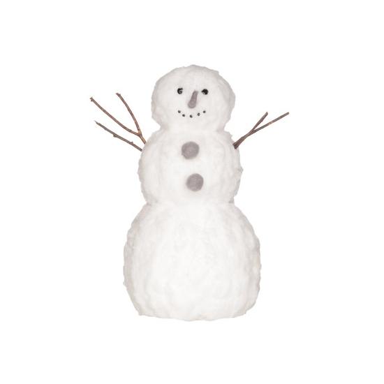 Image of Decoratie sneeuwpop van watten 42 cm