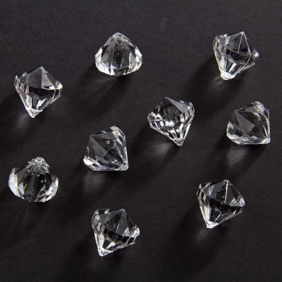 Image of Diamantjes transparant 20 mm