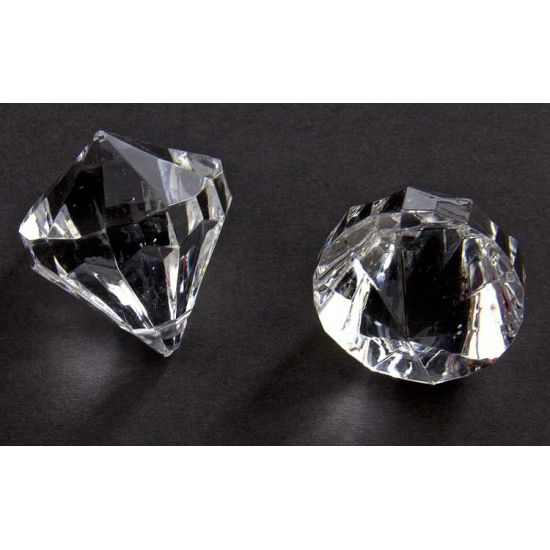 Image of Diamantjes transparant 30 mm