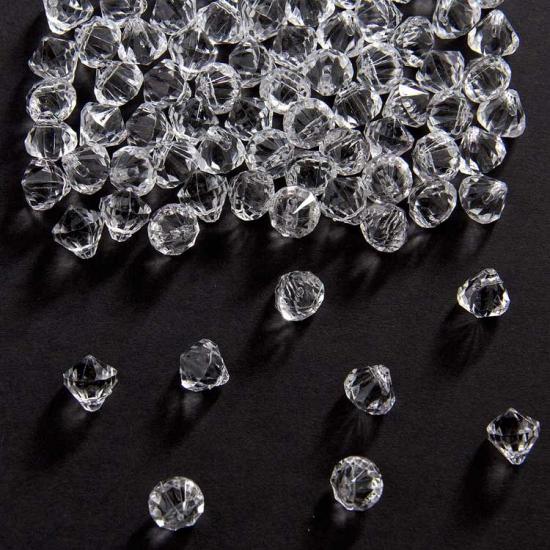 Image of Diamantjes transparant 9 mm