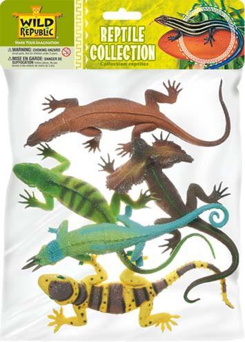 Image of Dieren set met 5 reptielen