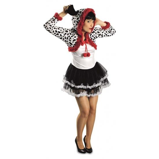 Image of Dierenkostuum dalmatier jurk voor dames