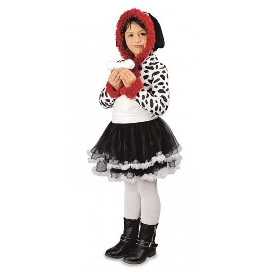 Image of Dierenkostuum dalmatier jurk voor meisjes