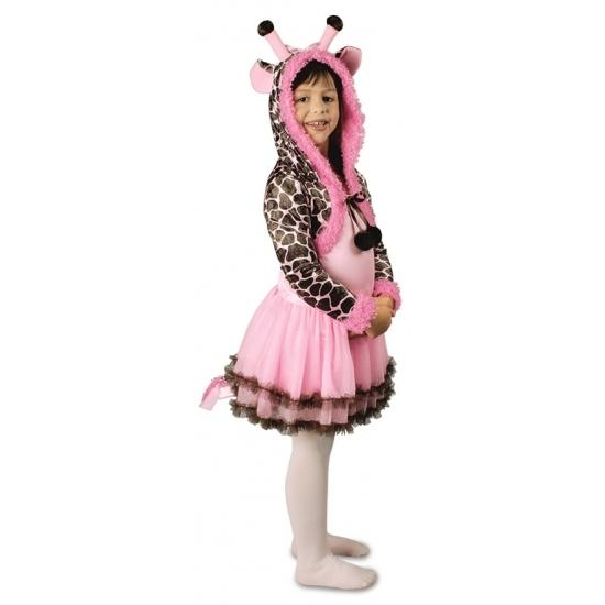 Image of Dierenkostuum giraf jurk voor meisjes