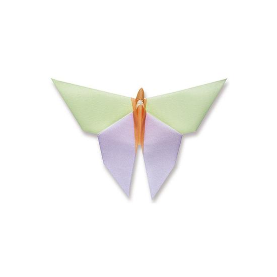 Image of Diner servet vlinder 40 x 40 cm