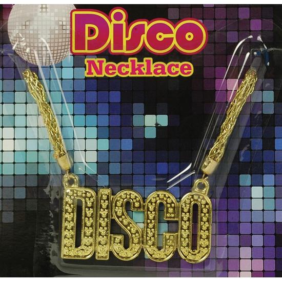 Image of Disco ketting goud