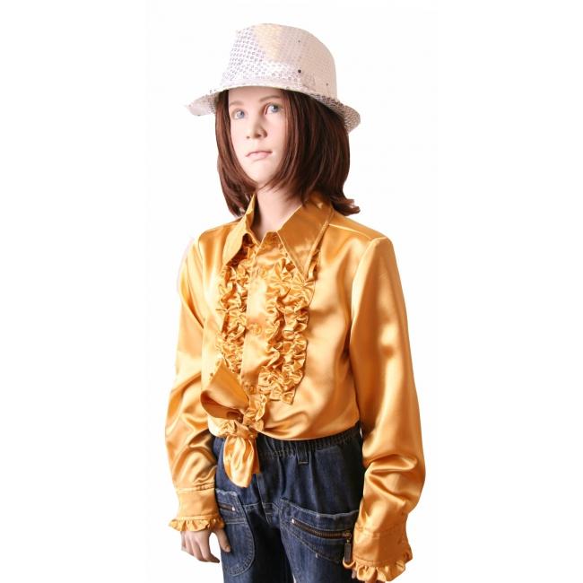Image of Disco shirt goud voor meisjes