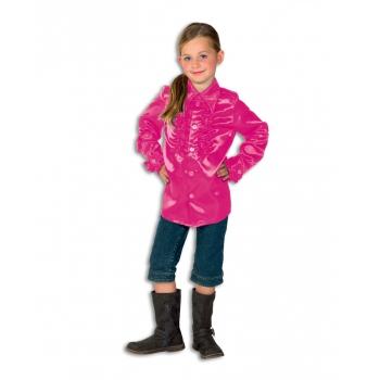 Image of Disco shirt roze voor meisjes