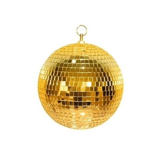 Image of Disco spiegel bal goud 20 cm