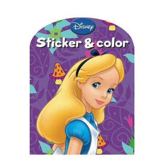 Image of Disney kleurplaten boek Alice