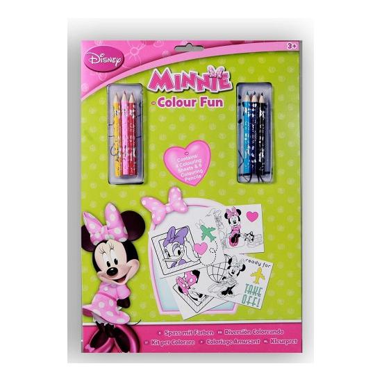 Image of Disney Minnie kleur setje