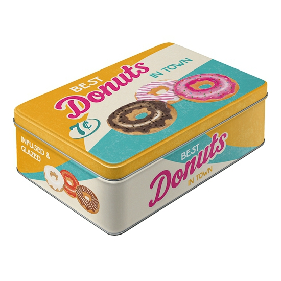 Image of Donuts bewaarblik 23 cm