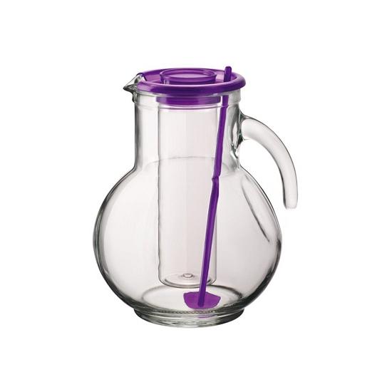 Image of Drinkkan paars met koelfunctie