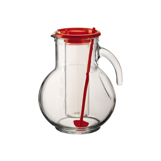 Image of Drinkkan rood met koelfunctie