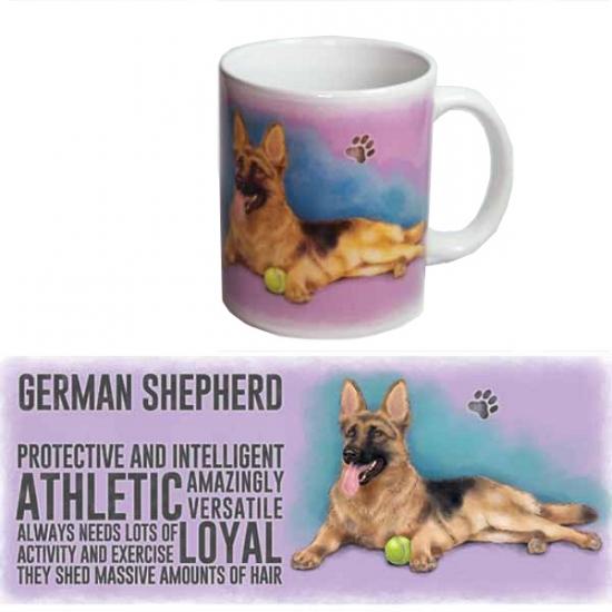 Image of Duitse Herder thee mok 300 ml