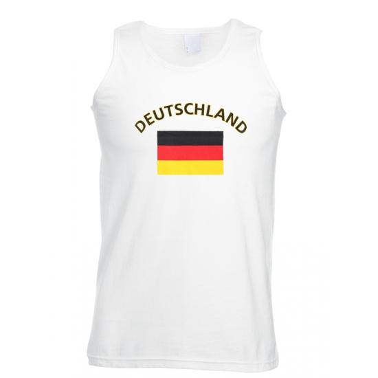 Image of Duitse tanktop met Duitsland vlag print