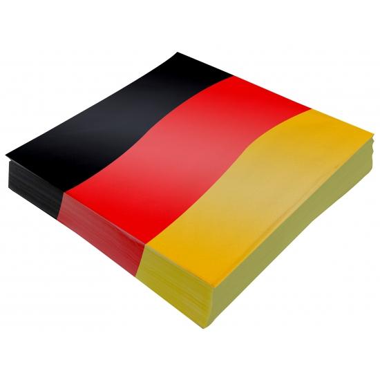 Image of Duitsland versiering servetten 20x