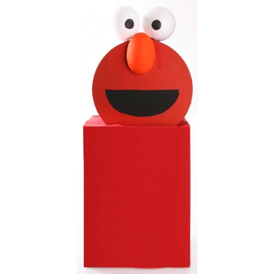 Image of Elmo knutselen startpakket
