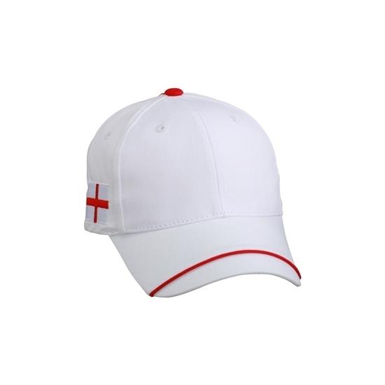 Image of England pet rood wit 100% katoen